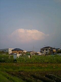 えっ!入道雲?