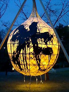 大学のまち京都・伝統の灯り展