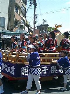 後の祭〜花笠巡行1
