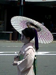 後の祭〜花笠巡行2