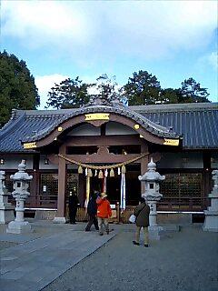百済神社のとんど焼き