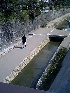 堀川のせせらぎ
